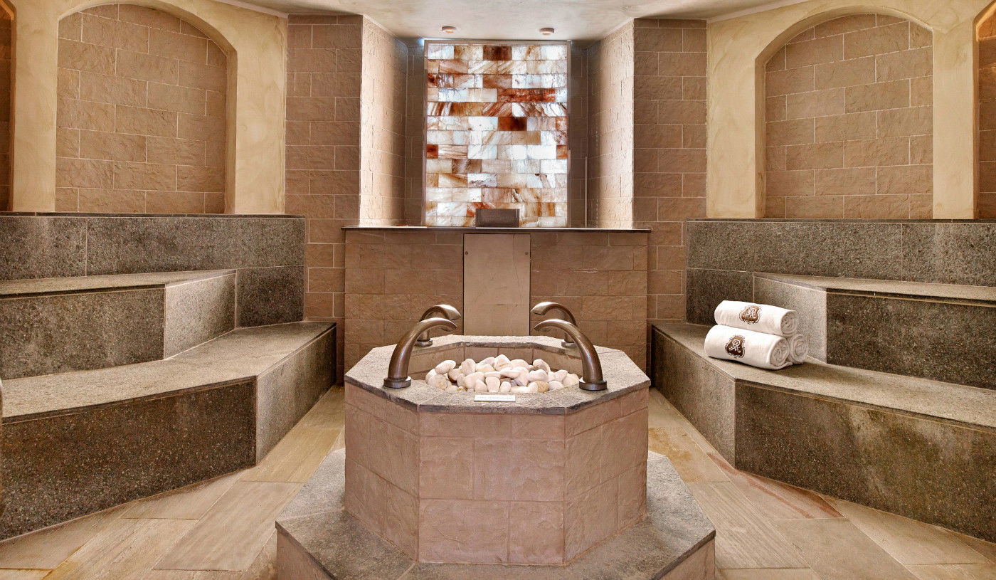 Sauna and Hammam at Arabella Spa Mallorca