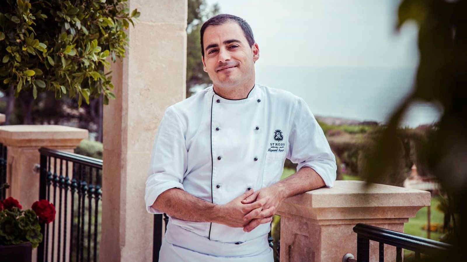 Chef Miguel Navarro The St. Regis Mardavall at the Culinary Safari in Majorca.