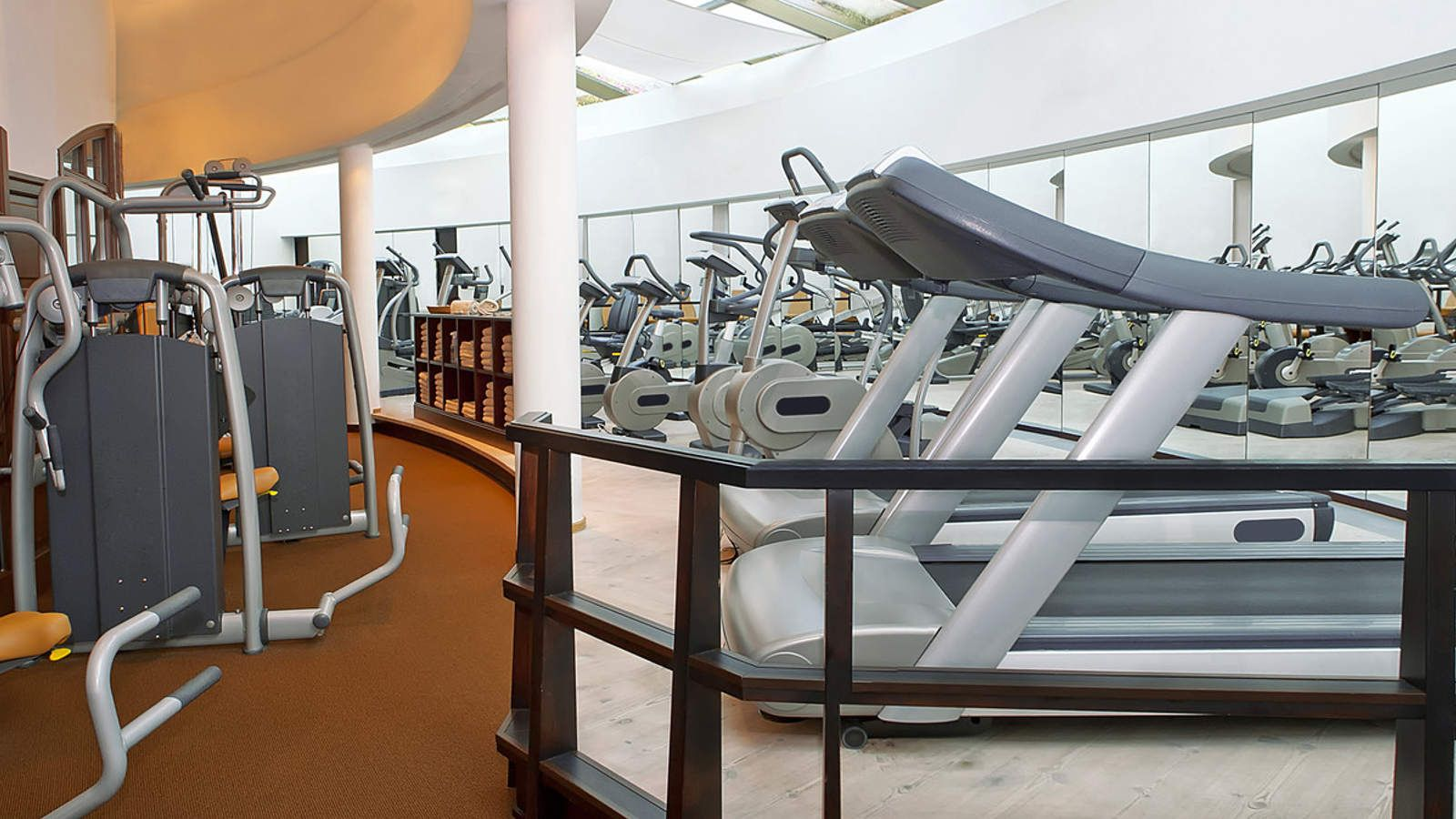 Gym equipments of The St. Regis Mardavall Mallorca Resort