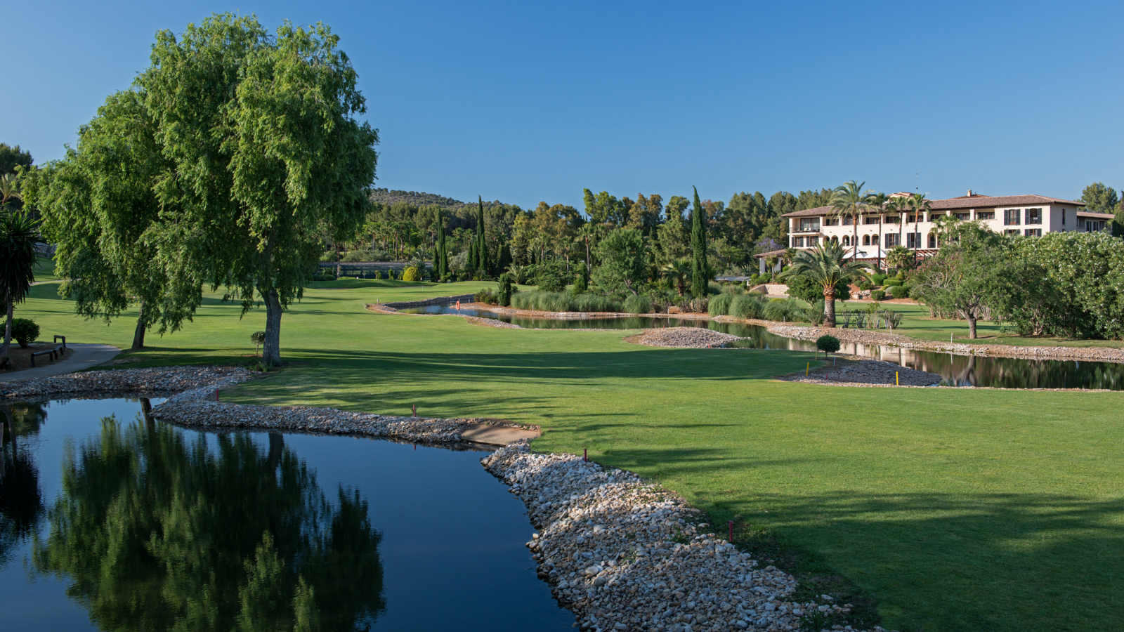 Son Vida golf course at  The St. Regis Mardavall Mallorca