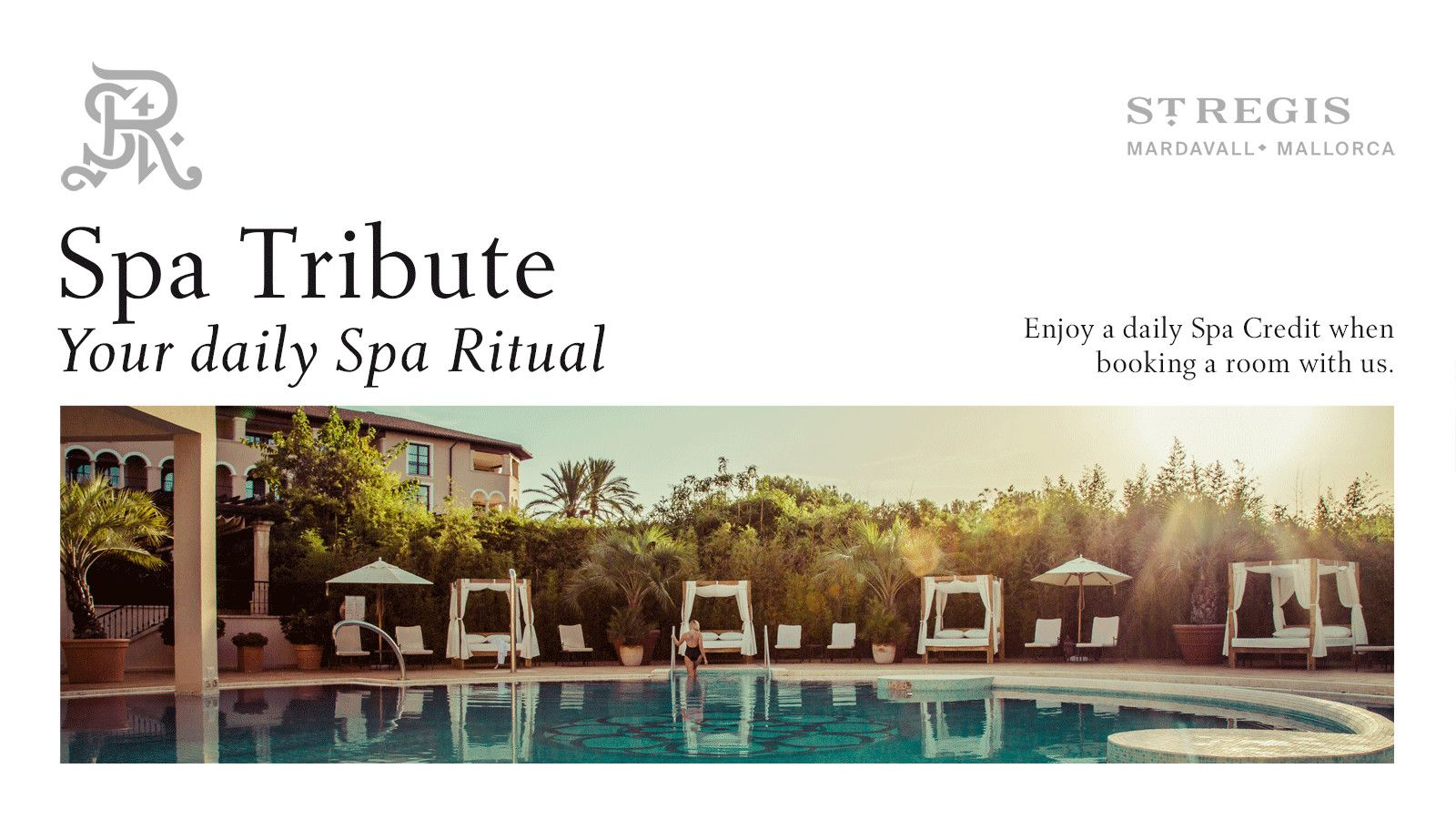 Spa Tribute daily offer at Hotel St. Regis Mallorca